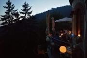 cena lume di candela terrazza